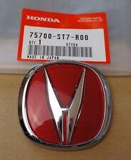 Acura Integra Typer Front Red Emblem OEM EBay - Red acura emblem