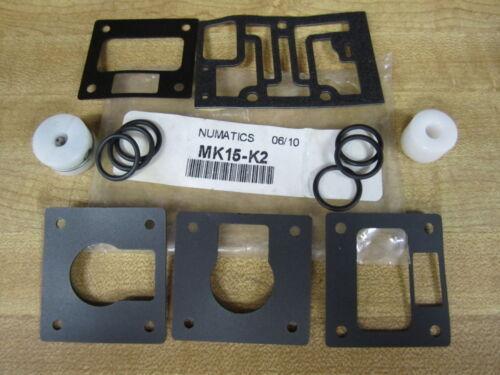 Pack of 3 Numatics MK15-K2 Repair Kit