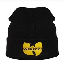 Wu-Tang Clan Winter Hat Beanie Rap Hip Hop Gold Logo Rza, Gza, Method Man, Ghost