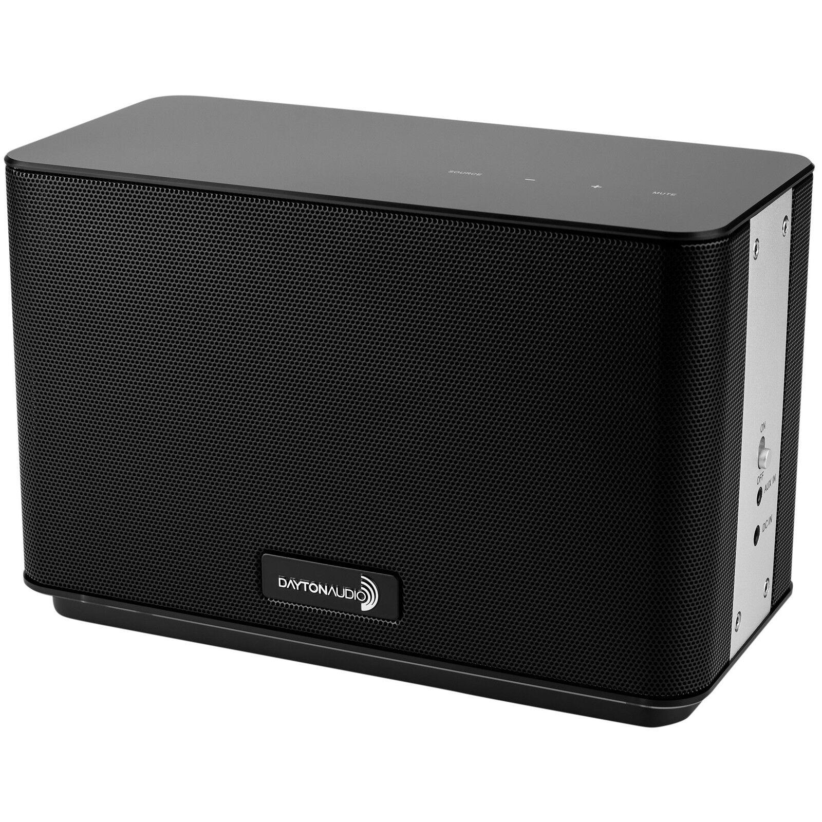 Dayton Audio AERO Wi-Fi azultooth Altavoz con control remoto remoto remoto IR Negro 109525
