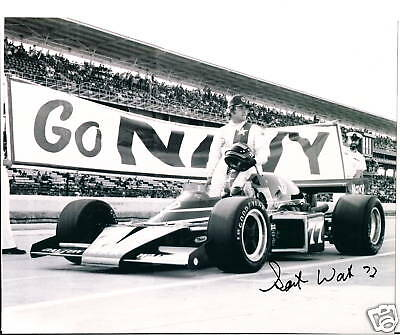 BILL PUTERBAUGH  AUTOGRAPHED  INDY 500 8 X 10 PHOTO
