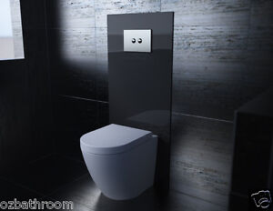 concealed-cistern-recessed-in-wall-WELS-Toilet-Toughened-Glass-Back-Panel-ONLY