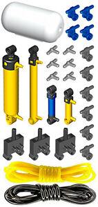 Lego Pneumatic AIR TANK KIT 3 (cylinder,mini,pump,tube,hose,switch,valve,piston)