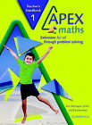 Apex Maths Teacher's Handbook: Extension for all through Problem Solving by Paul Harrison, Ann Montague-Smith (Paperback, 2003)