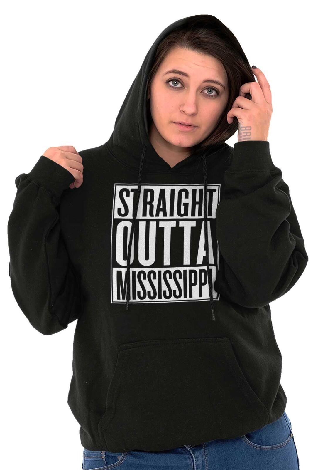 Película recta fuera Mississippi State Gracioso Camiseta Sudadera Con Con Con Capucha Idea De Regalo 94a8b9