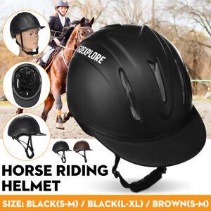 GOEXPLORE-Bombe-cheval-casque-d-039-equitation-protection-securite-respirante-adulte