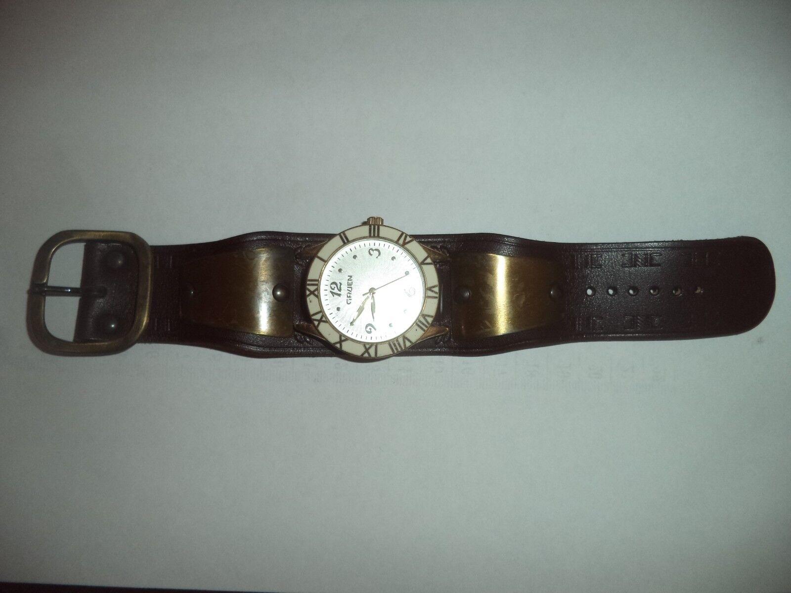 Vintage Original 70s Steampunk Watch