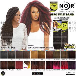 Image Is Loading Janet Collection Noir Afro Twist Braid 100 Kanekalon