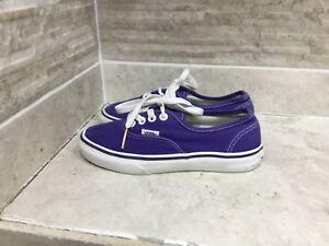 Bien Kids Vans Taille Uk 1 Violet Filles-afficher Le Titre D'origine Distinctive Pour Ses PropriéTéS Traditionnelles