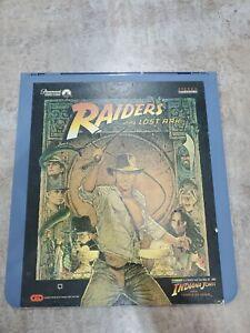 Vintage 1981 Raiders Of The Lost Ark RCA CED SelectaVision VideoDisc testedWorks