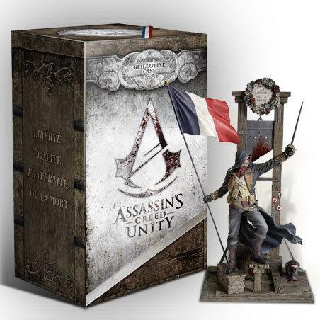 Assassin's Creed Unity Guillotina caja de coleccionista