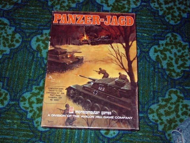 Avalon Hill 1983 - PANZER-JAGD - Commodore 64 - ATARI - Microcomputer Games