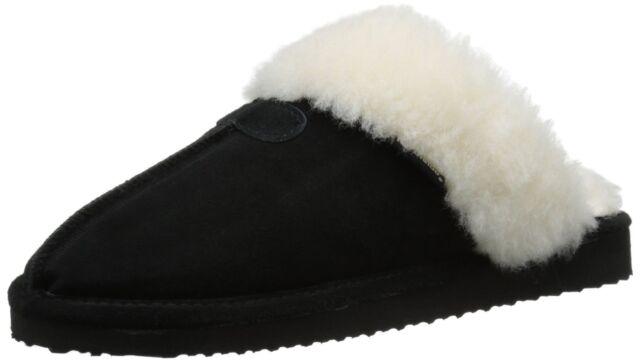 Northside Women's Caroline Slipper Mule Open Back Shoe Black Size 7 M