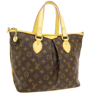 LOUIS-VUITTON-PALERMO-PM-2WAY-HAND-TOTE-BAG-VI2048-PURSE-MONOGRAM-M40145-01965