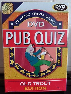 Classic Trivia Game DVD Pub Quiz - Old Trout Edition - NEW & SEALED  5015766023069 | eBay