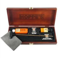 Hoppes - Deluxe Universal Gun Cleaning Kit In Wood Box