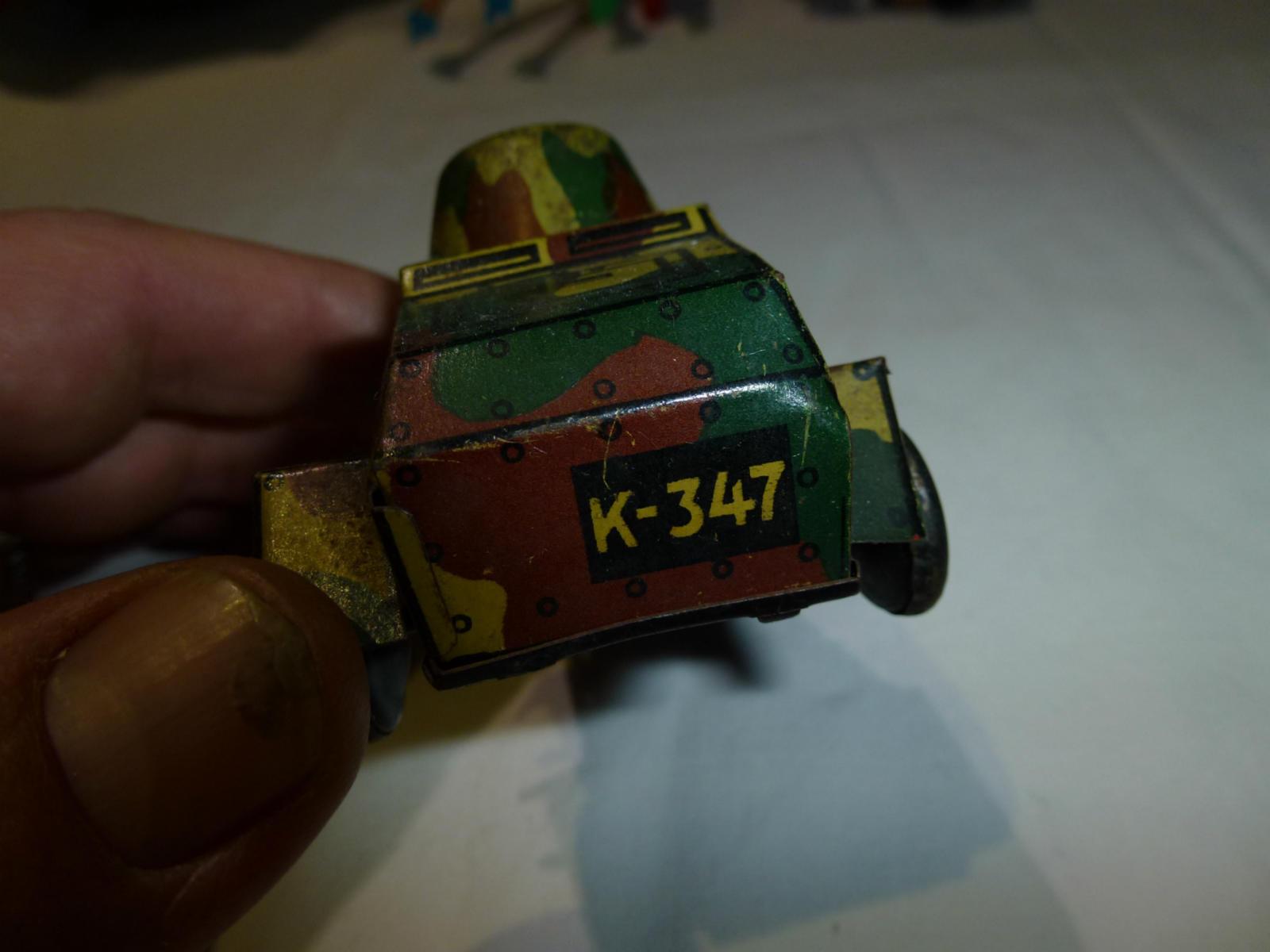 Mettre la la la réduction jusqu'au bout Automitrailleuse K-347 DRGM Foreign 1da970