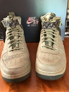 Details about Nike SF AF1 Air Force 1 Mid Green Mushroom Men's Size 11 Shoes Sneakers High Top