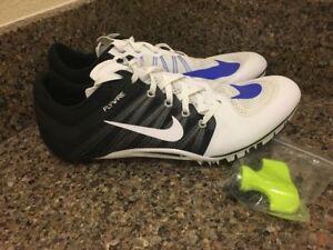 90cbdd7229ab0 NEW Nike Zoom JA Fly 2 Unisex Track Spikes 705373-100 Sz 11.5
