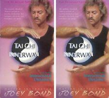 Tai Chi InnerWave Vol. 1-2 Instructional Dynamics VHS Set of 2 Tapes Joey Bond
