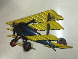 Details About Ton Metal Airplane Wall Art