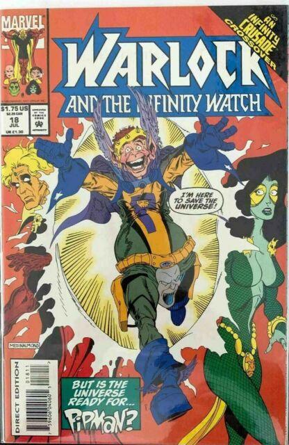 Warlock and the Infinity Watch #18 Marvel Comics July Jul 1993 (FNVF)