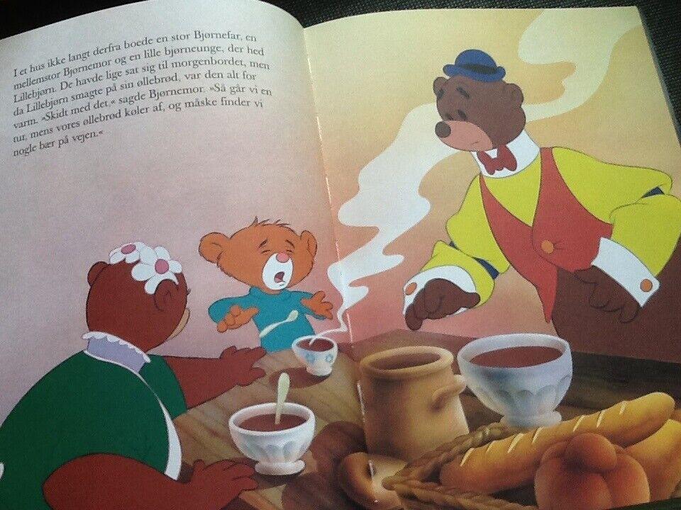 Den lille Rødhætte og Guldlok og de tre bjørne., Van Gool's