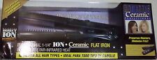 HOT TOOLS Professional Ceramic 1 1/4 inch Ion Flat Iron with Gentle Far Infrared