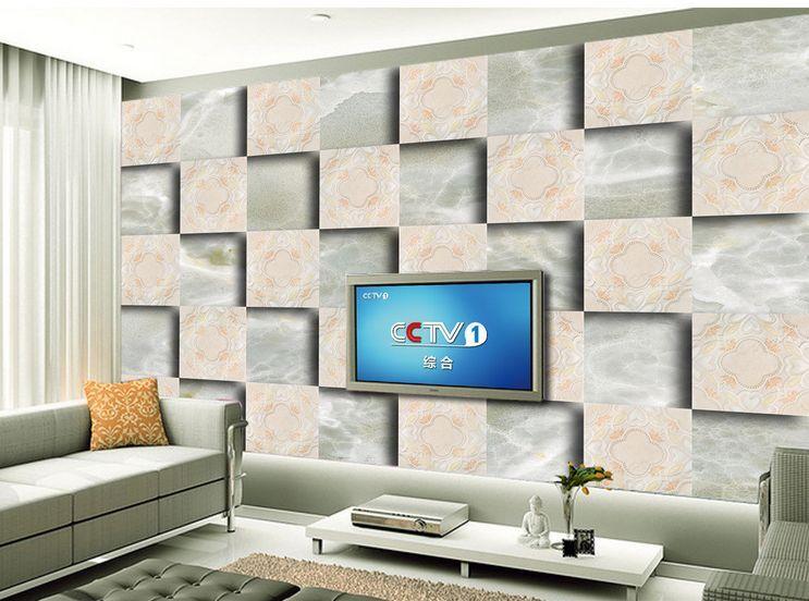 3D grano griglia Parete Murale Foto Carta da parati immagine sfondo muro stampa