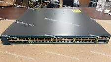 Cisco WS-C3560E-48TD-E 2 x 10 Gigabit Ethernet 48 x Gigabit switch 3560E-48TD-E