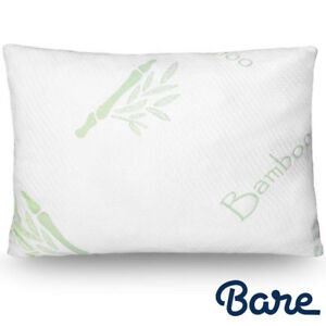 Luxury-Shredded-Memory-Foam-Pillow-Removable-Bamboo-Cover-Adjustable-Support