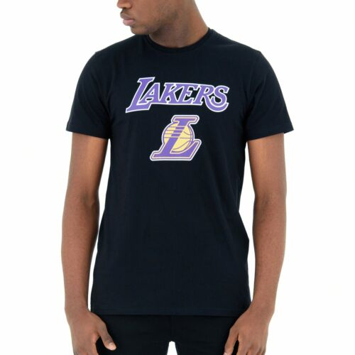 New Era Basic Shirt NBA Los Angeles Lakers schwarz
