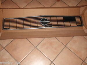 Frontgrill-Grill-Kuehlergrill-Ziergrill-Opel-Ascona-A-1320205-Oldtimer-NEU