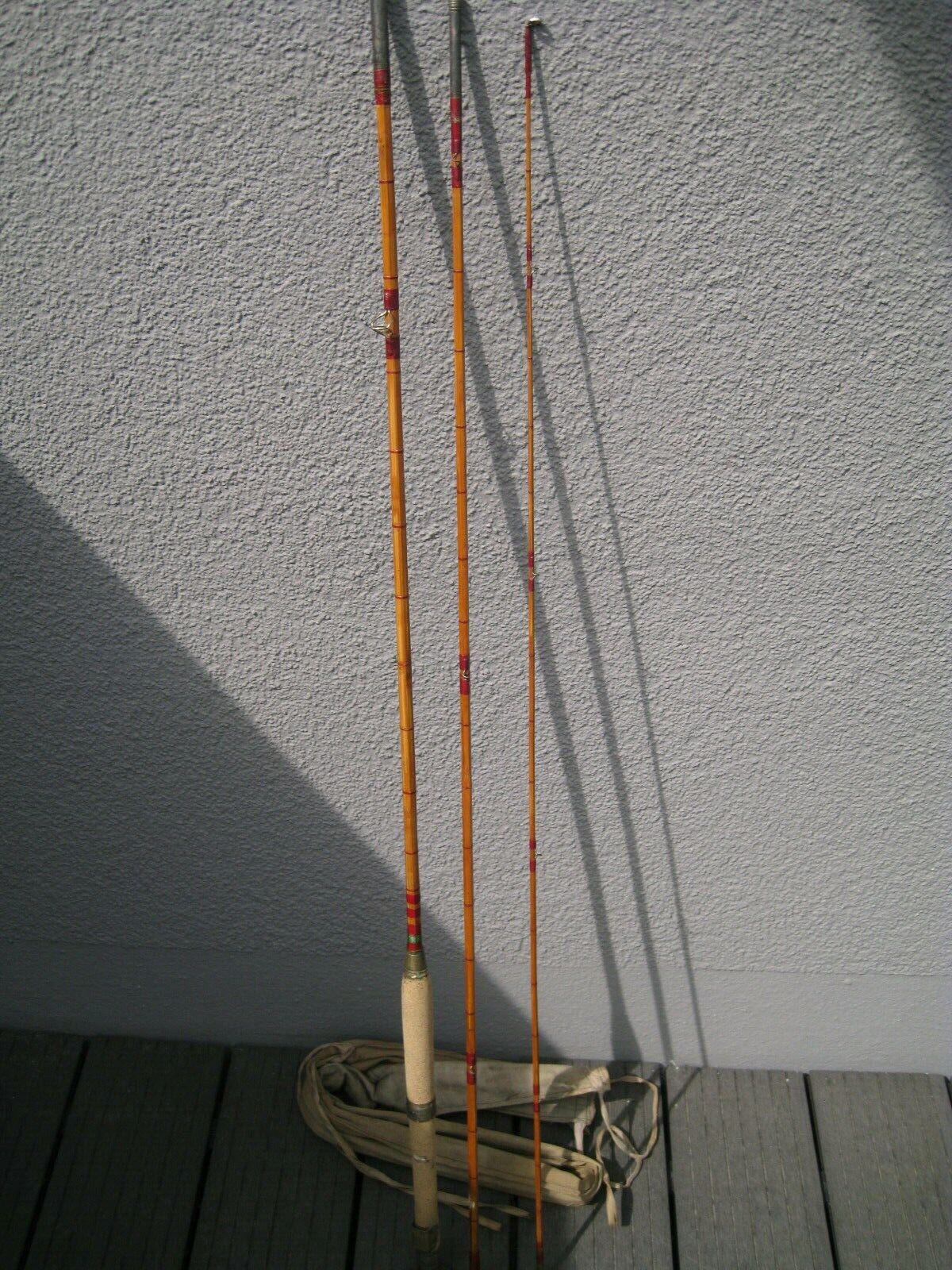 Cane Rod Fishing Pole France Carpe D'OR Marque DE FABRIQUE