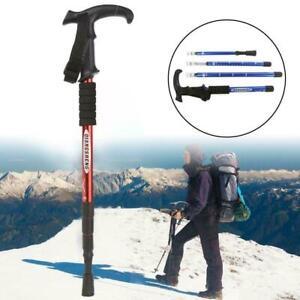 Wanderstöcke Verstellbare Trekkingstöcke Teleskop-Anti-Shock-Wanderstock B3I5
