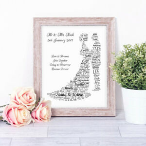 Image Is Loading Personalised Bride Amp Groom Newlyweds Word Art