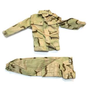 New-1-6-21st-Century-WWII-DESERT-Uniform-Set-For-12-034-The-Ultimate-Soldier-GI-Joe