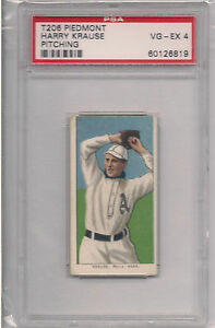 1909-T206-HARRY-KRAUSE-PITCHING-PSA-4-PIEDMONT-350-SUBJECTS-FACTORY-25