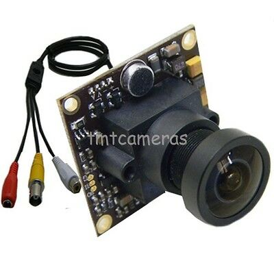 700TVL Sony CCD Effio-e Mini CCTV Security FPV Audio Mic Camera OSD D-WDR 2.1mm