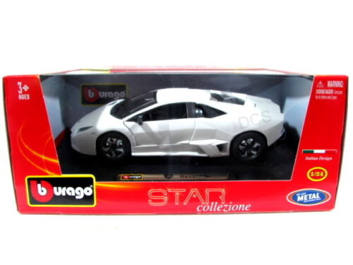 Bburago Lamborghini Reventon White 1//24 Diecast N//Box