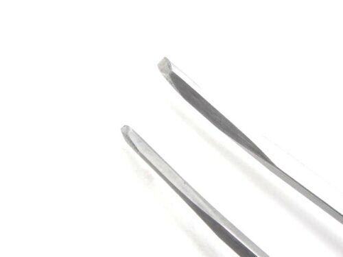2 Cincel Veiner línea restauración Talla De Madera Armero Talla de damero herramientas 4//4M