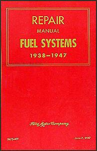 Cadillac Engine Diagnosis Manual 1937 1938 1939 1940 1941 1942 1946 1947 1948