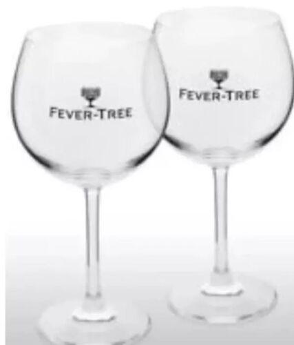 4 X Fever Tree Dartington Made Gin Glas New CE Bar Valentines Gift