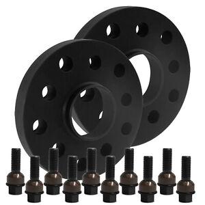 Blackline-Spurverbreiterung-20mm-mit-Schrauben-schwarz-Porsche-911-991-Carrera