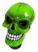 Custom Accessories 23179 Green Skull Gear Shift Knob Fits Column Or Floor Shift