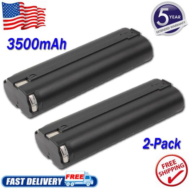 2x 3.0AH 7.2V Ni-MH Batterie Pour Makita 7000 7002 7033 191679-9 192532-2 3700D