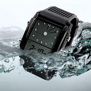 Herren-Damen-Digital-Led-Chronograph-Quartz-Sport-Watches-Armbanduhr-Uhren-LED