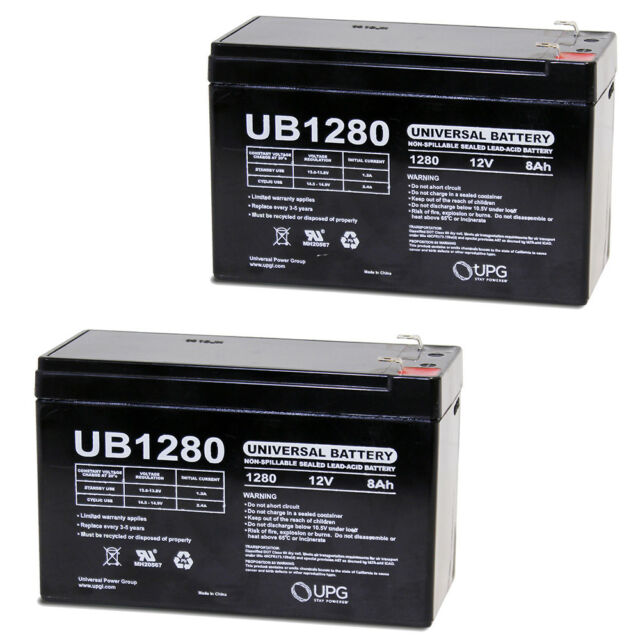 Great price 4 PACK UPG 12V 8AH SLA Battery Replacement for GS Portalac PXL12072. 4983203166277