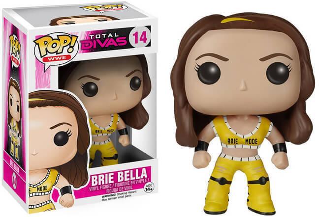 Funko Pop Vinyl Total Divas Brie Bella WWE Vaulted