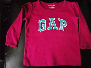 Cerise  Long Sleeve Top  Age 612 months  GAP - <span itemprop='availableAtOrFrom'>Leigh-on-Sea, Essex, United Kingdom</span> - Cerise  Long Sleeve Top  Age 612 months  GAP - Leigh-on-Sea, Essex, United Kingdom